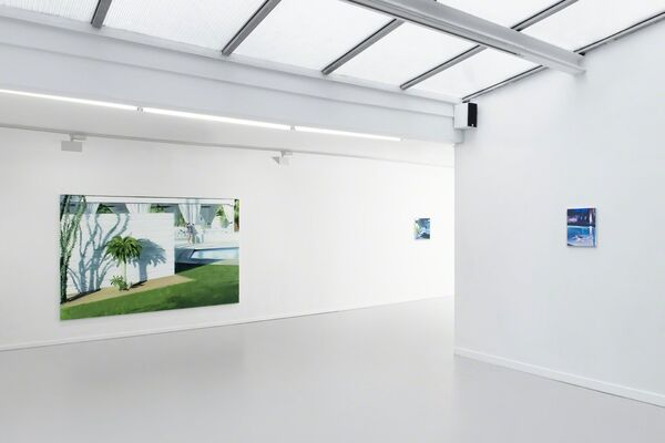 Caroline Walker - The Racquet Club, installation view