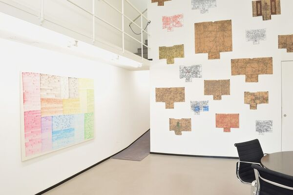 Wieteke Heldens   With Colored Content², installation view