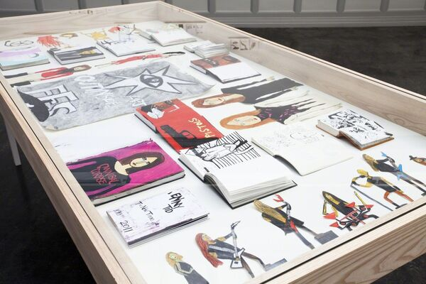 Frode Felipe Schjelderup: The Outinside Art, installation view