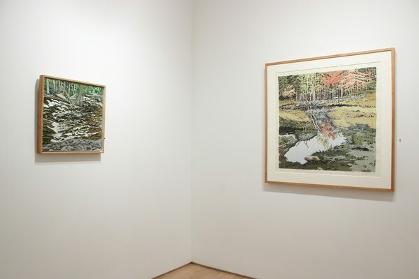 Neil Welliver: Selected Paintings and Prints, installation view