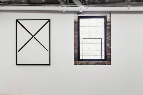 Clay Mahn, installation view