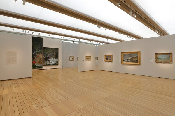 Monet: The Early Years, installation view