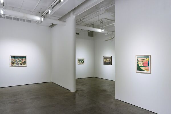 On the Surface, installation view