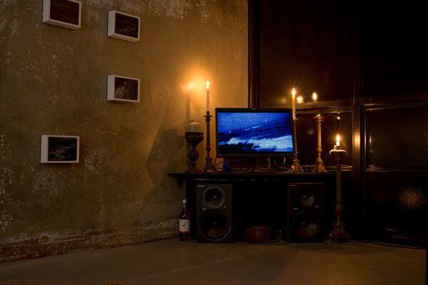 PETER HALASZ: SÉANCE - at Quint Projects, installation view