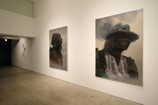 "DU Kun ""众神闹- Revels of the Rock Gods"", installation view"