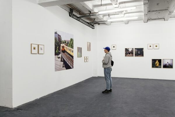 Norman Behrendt: Burning Down The House, installation view
