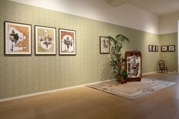 Posthumous Identity, installation view