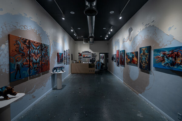 Animal Instincts: Kiptoe's FIRST Solo Exhibition, installation view