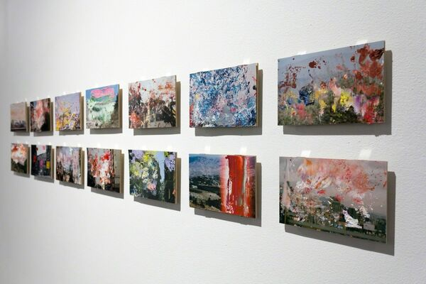 Chromatic Reveries, installation view