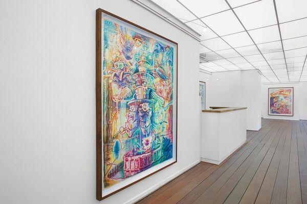 Robert Yarber - Panic Pending, installation view