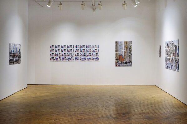 Urban Glitch: Phil Stein Solo Exhibition, installation view