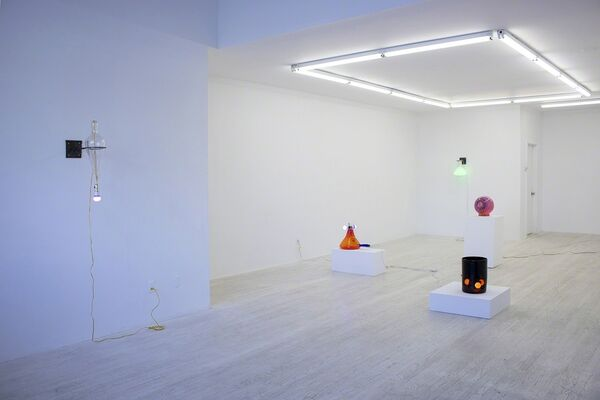 Go Towards The Light, installation view