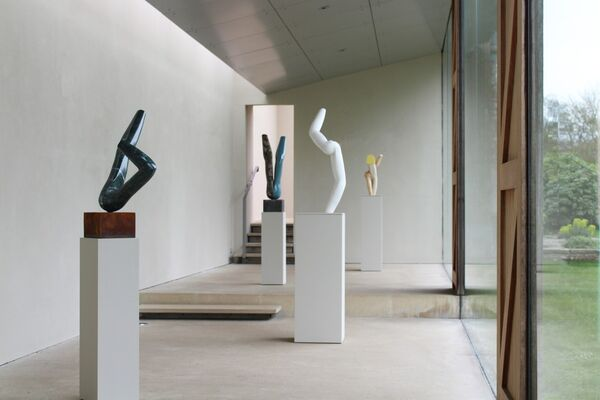 Gary Hume: Carvings, installation view