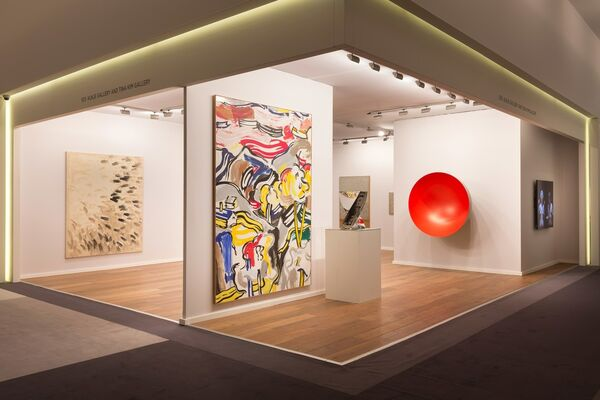 Tina Kim Gallery at TEFAF Maastricht 2016, installation view