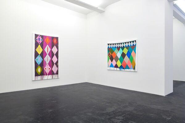 Judy Ledgerwood «Beyond Beauty», installation view