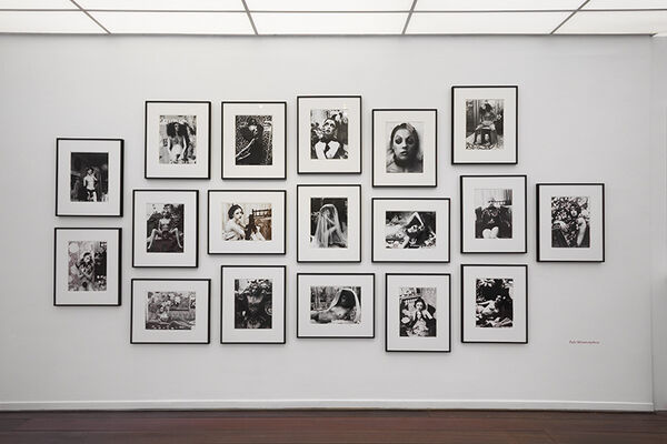 """Irina Ionesco """"Ma réalité rêvée"""", vintages from the 70's and 80's., installation view"""