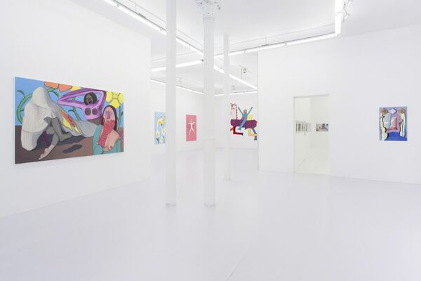 Booby Trap, installation view