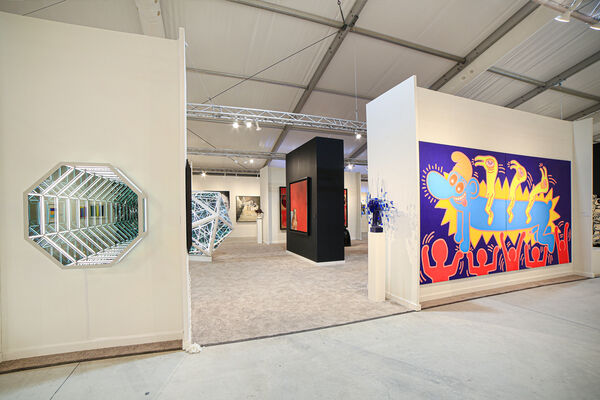 Opera Gallery at Art Miami 2019, installation view
