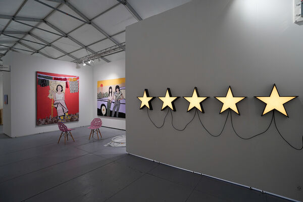 The Directed Art Modern at SCOPE Miami Beach 2019, installation view