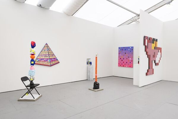 Over the Influence at UNTITLED, ART Miami Beach 2019, installation view