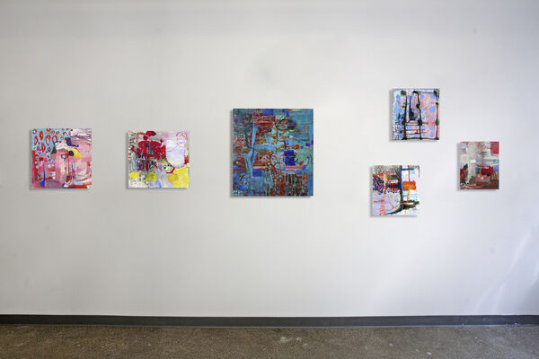 Slow Dive, installation view