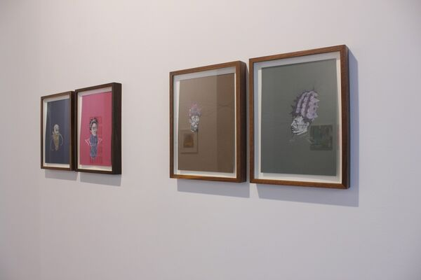 Paper Dialogues, installation view
