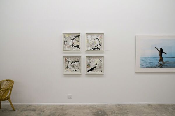 (it was) A Wet, Hot, Southern Summer, installation view