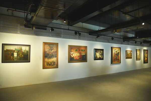The Sixties Show, installation view
