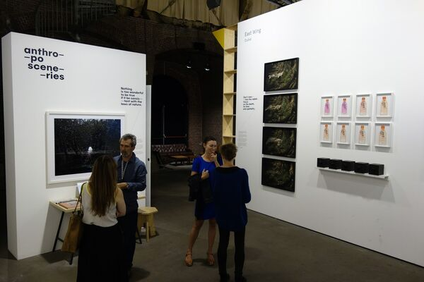 East Wing at Unseen Photo Fair 2016, installation view