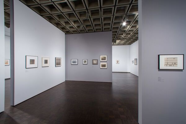 Nasreen Mohamedi, installation view