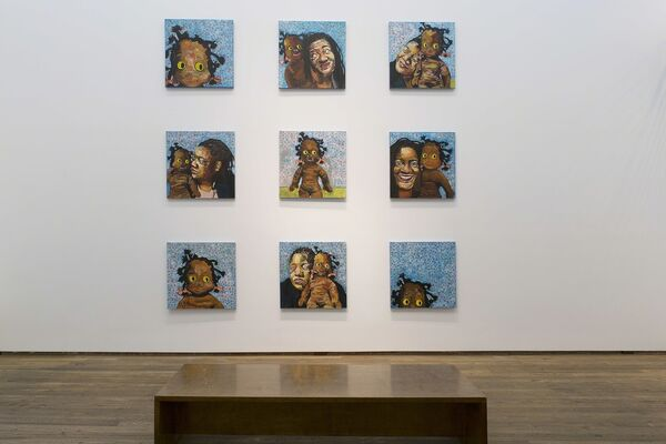 Beverly McIver, Objects of Affection, installation view