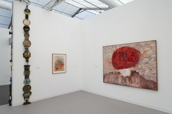 Stevenson, Cape Town and Johannesburg at Frieze London 2016, installation view