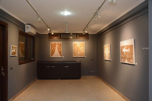 OF AESTHETICS & THE VERNACULAR...An insight into Warli art (Five artists ), installation view