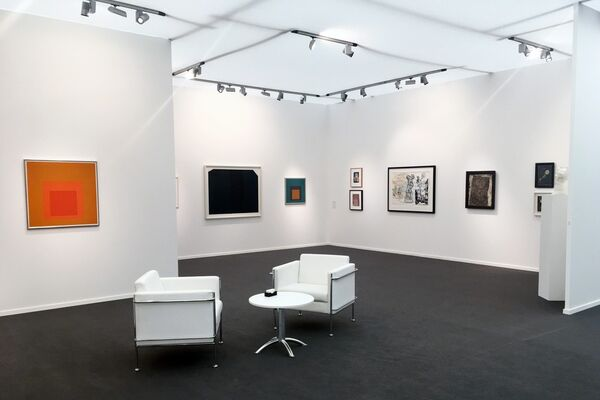 Barbara Mathes Gallery at Frieze Masters 2018, installation view