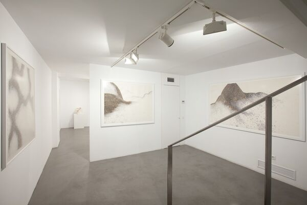 double-sided, installation view