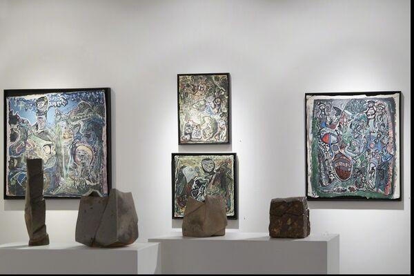 The Bush Have Ears: Leonard Daley & Ras Dizzy, installation view