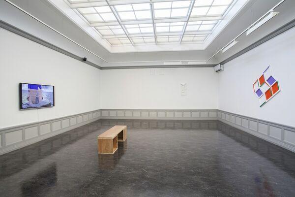 Jessica Warboys: Topo Scenic, installation view