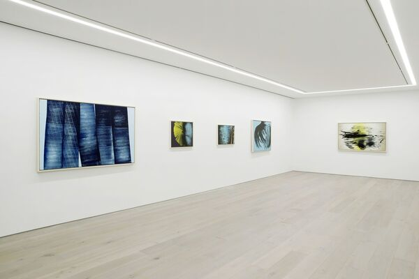 "HANS HARTUNG ""A CONSTANT STORM. WORKS FROM 1922 TO 1989"", installation view"