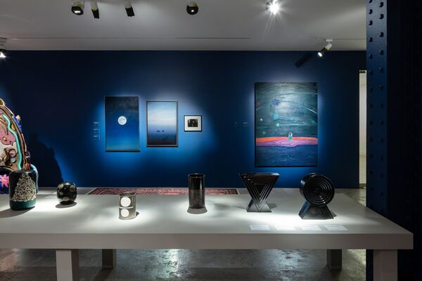 Under the Night Sky, installation view