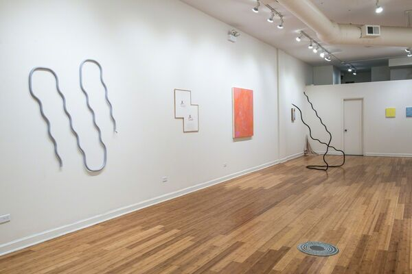 In the Company of Flowers, installation view
