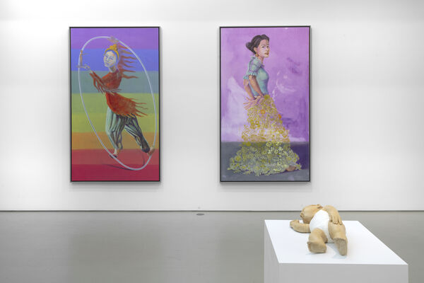 King of the Hill, installation view