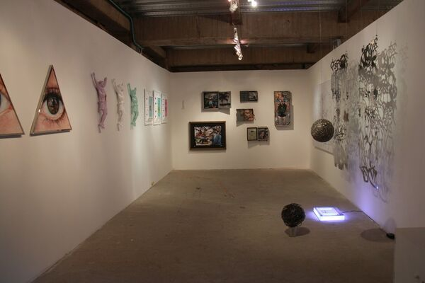 neebex at Odeon, 2015 Contemporary Art Fair, installation view