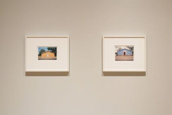 William Christenberry: Summer | Winter, installation view