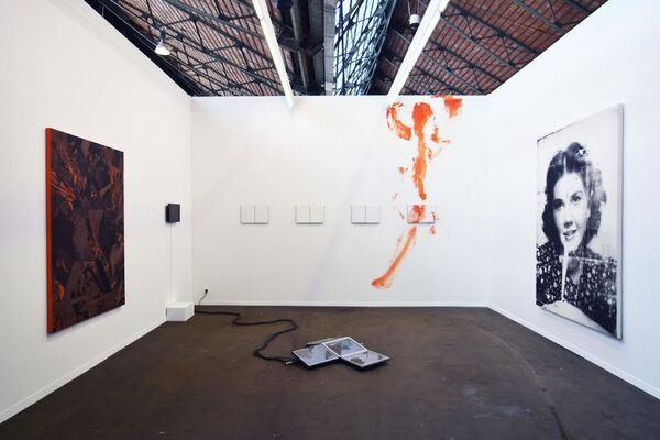 Harlan Levey Projects at Art Brussels 2016, installation view