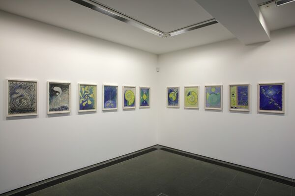 Hilma af Klint: Painting the Unseen, installation view