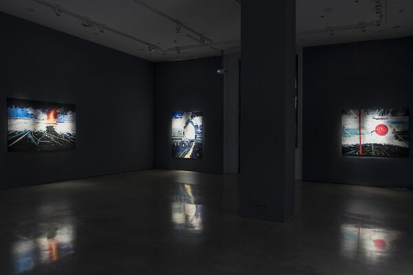 THE VELVET SUN, installation view