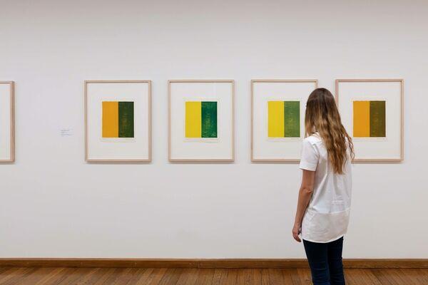 Barnett Newman, installation view