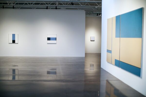 Tangled Up in Blue, installation view