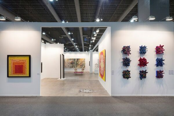 Ben Brown Fine Arts at ZⓈONAMACO 2019, installation view