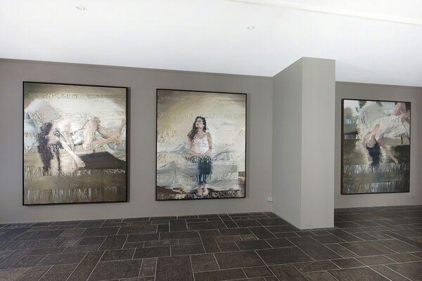 Andy Denzler - Human Perspectives / Zurich, installation view